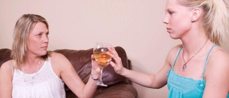Что может сделать ребенок самостоятельно, если мать пьет.